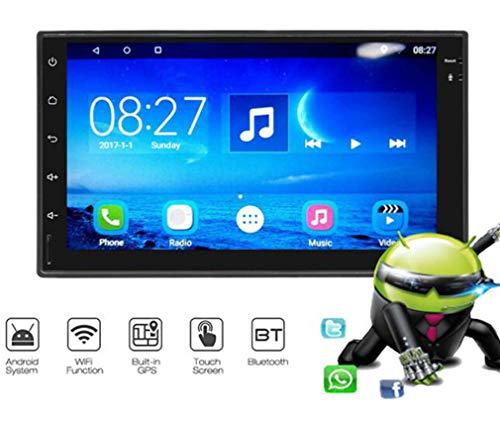 Huashao 7-Zoll-Quad-Core-HD-Auto GPS-Navigations-Player, kapazitives Bildschirmsystem 6.0 für Android-Universalmaschinen