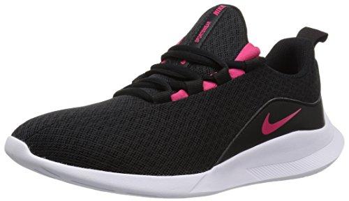 Nike Damen Viale (gs) Sneakers, Schwarz (Black/Rush Pink/White 001), 39 EU (Turnschuhe Nike Kid)