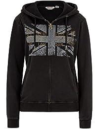 Lonsdale - Sweat-shirt - Uni - Femme noir noir