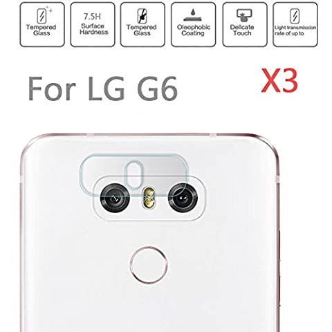 superior ZRL®7H Rear Tempered Glass Camera Lens Protector Film Guard For LG G6