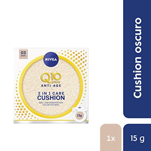 NIVEA Q10 3en1 Cushion Tono Oscuro 1 x 15 ml