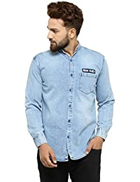 7711e0a1007 Denim Men s Shirts  Buy Denim Men s Shirts online at best prices in ...