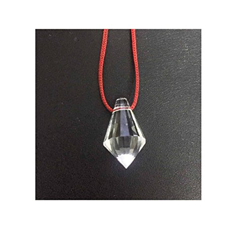 Malabar Gems Quartz Pendant with Silk Thread for Boosting Venus