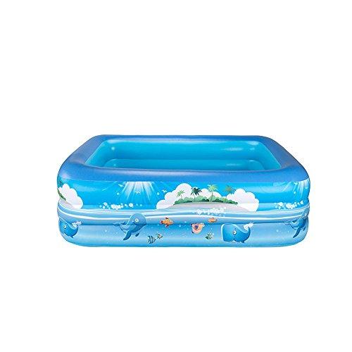Sunbobo Inflatable PVC Children Boy Girl Kids Pool Foldable Anti-slippery(For 3-6 Years)