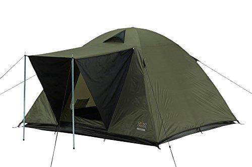 Grand Canyon Phoenix L - Kuppel-/ Igluzelt, 4 Personen, für Trekking, Camping, Outdoor, Festival, olive/schwarz, 602002 -