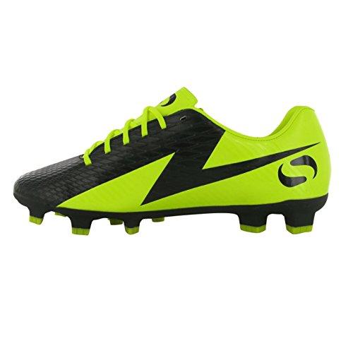 Sondico Venata FG Kinder Jungen Fussballschuhe Nockenschuhe Fussball Sportschuhe Black/Yellow