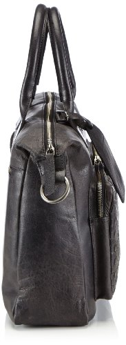 Otto Kern - Ladies Laptop, Borsa a spalla Donna Nero (Schwarz (Black)