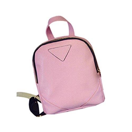Bzline® Borsa A Tracolla Da Viaggio Donna Tessuta Rosa Per Donna