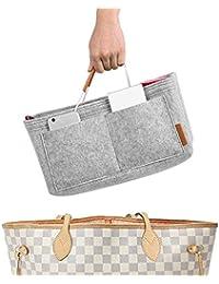 Foregoer Felt Handbag Bag Organiser Insert for Tote with Handles