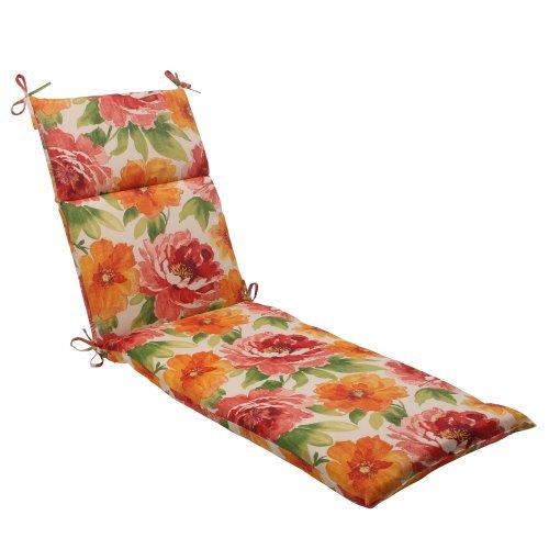 Kissen Kissen Perfect Indoor-/Outdoor Primro Chaise Lounge, orange von Kissen Perfekte
