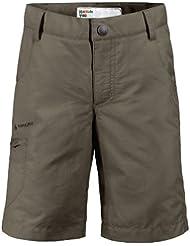 Vaude Kids Detective Bermuda II - Pantalones cortos para niño, color verde grisáceo, talla 10 años (140 cm) [DE 134/140]