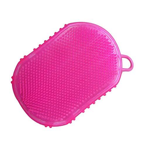 Jorzer Silikon-Massage-handschuh Glatt Abnehmen Anti-Cellulite-massagebürste Bademassagehandschuh Massage Entspannung 1pc Zufällige Farbe