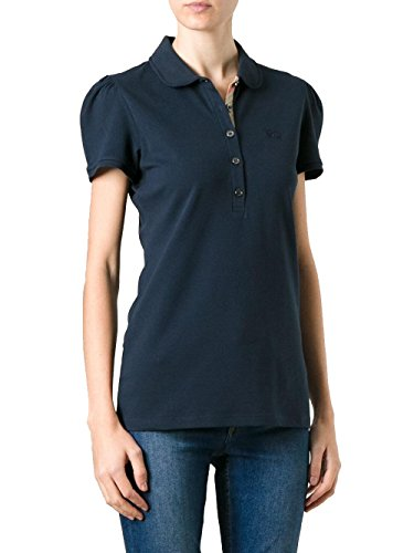 BURBERRY BRIT - Damen Polo YSM70254 - Blau (Dark Navy), XL