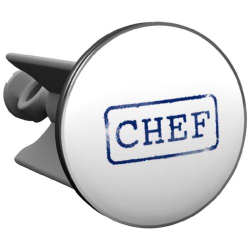 Plopp bonde Chef, pour lavabo, bonde, bonde Excenter, déversoir