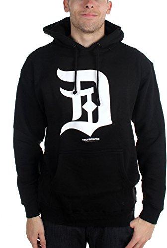 Deftones-Sacramento D-Pullover-Felpa con cappuccio da uomo Nero