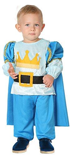 Baby Kostüm Prinz - ATOSA 38851 Prinz, Jungen, mehrfarbig, 6-12 Monate