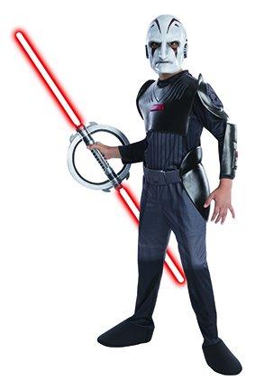 Rubie's Star Wars Rebels Inquisitor Kinderkostüm Lizenzware