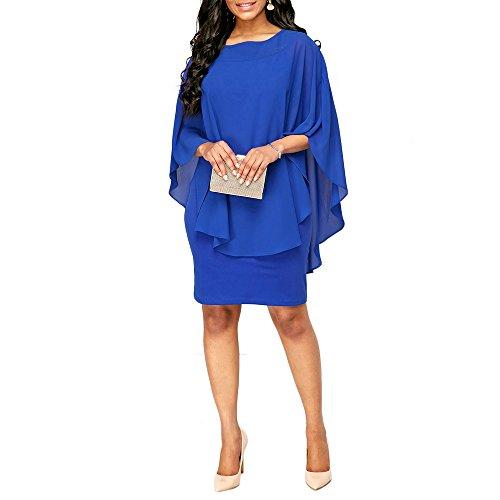 3d42b75dffd5fe Uranus Store - Vestido - para Mujer Azul Azul Large