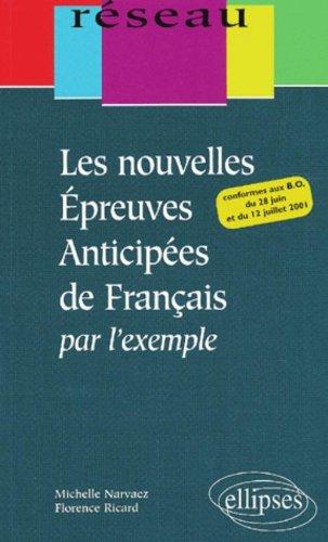 Les nouvelles épreuves anticipées de français par l'exemple