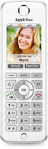 AVM FRITZ!Fon C4 Telefon (Farbdisplay, beleuchtete Tastatur) weiß, deutschsprachige Version - 4