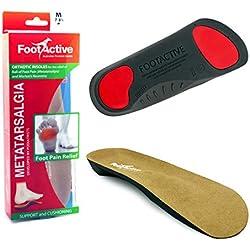 Plantilas Gel FootActive pies cavos