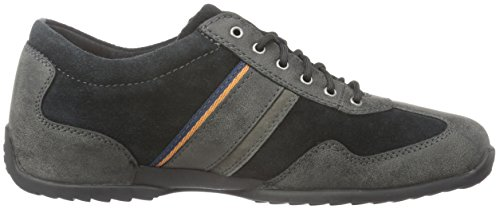 Camel Active Space 24, Baskets Basses Homme Gris (Anthracite/Black 04)