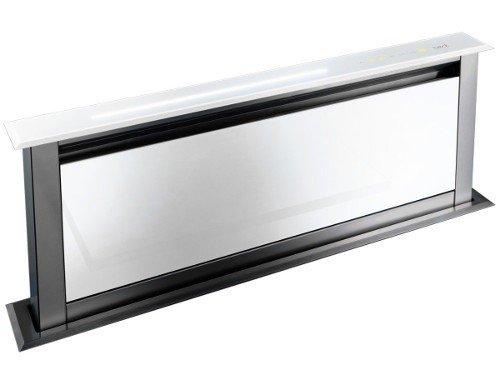 Best Dunstabzugshaube Lift Glas Weiß 90 EM