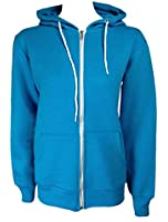 Home of Fashion Womens Turquoise Hooded Jumper Jacket
