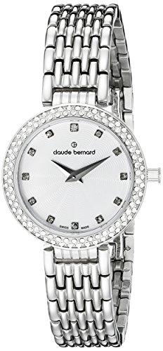 Claude Bernard Women's Watch Analogue Quartz Stainless Steel Silver 20204-3-B