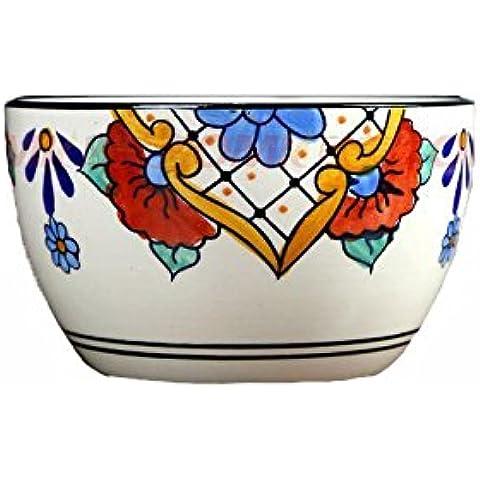 MZMZ-generic Gourmet Küche handbemalte Keramik vintage Schüssel Keramik Geschirr home