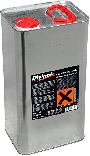 Divinol 5 Liter Konservierungswachs Korrosionsschutzwachs Korrosionsschutz