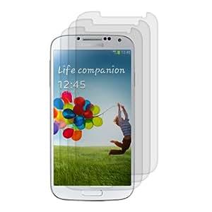 3x kwmobile Folie matt für Samsung Galaxy S4 Displayschutzfolie - Schutzfolie Anti-Fingerabdruck Displayschutz Displayfolie entspiegelt