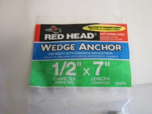 red-head-1-2-in-x-7-in-hot-dipped-galvanized-wedge-anchor-item-177689-model50306-upc092097503069-by-