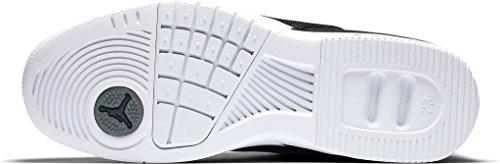 Nike Jordan Academy, espadrilles de basket-ball homme Noir (Noir / Blanc-Cool Grey-Vachetta Tan)