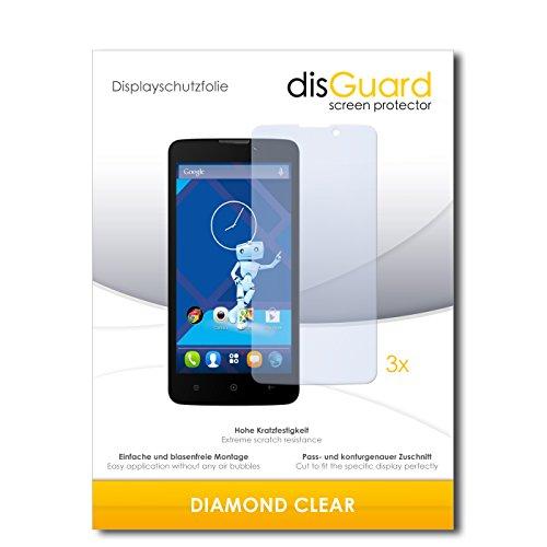 3 x disGuard® Schutzfolie Haier Phone L52 Bildschirmschutz Folie