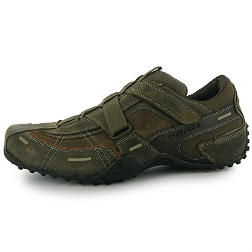 Skechers Urban Track Palms Mens Shoes Brown 11 UK UK