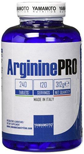 Yamamoto Nutrition Arginine PRO Kyowa® Quality 240 compresse integratore alimentare di L-Arginina