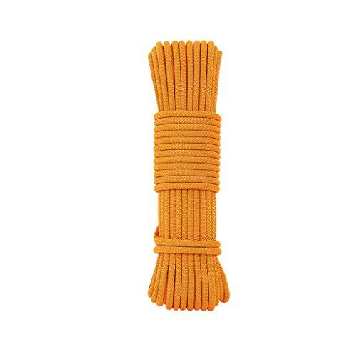 LIINAWS corda Corda ausiliaria da 8 mm, filo in poliestere ad alta resistenza che torce processo a doppio filo tessitura morbida resistente all'usura e resistente allo sporco facile da pulire