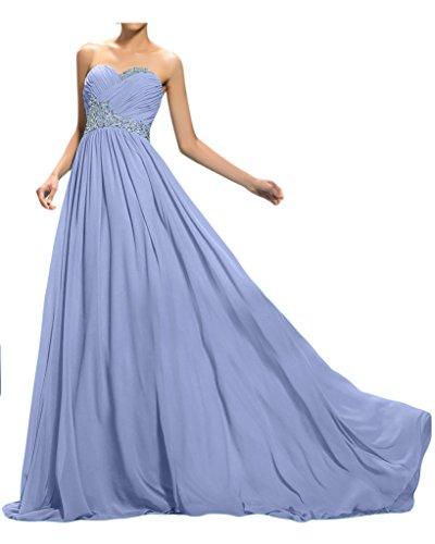 ivyd ressing robe ligne traîne pierres de haute qualité Forme de cœur A Prom Party robe lanf robe du soir Violet - Lilas