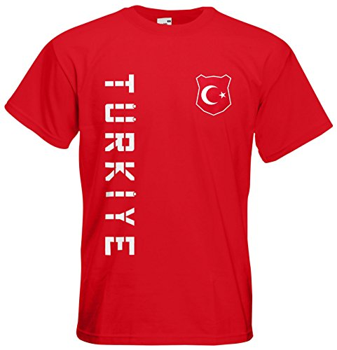 Türkei Türkiye EM 2016 T-Shirt Trikot Rot