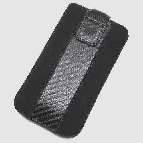 Schutzhülle, Weise Nubukleder XL für Archos 40C Titanium
