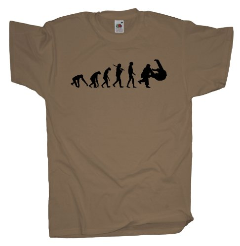 Ma2ca - Evolution - Judo Ringer T-Shirt Khaki