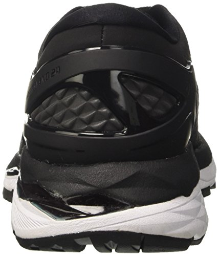 Asics Gel-Kayano 24, Scarpe Running Donna Nero (Black / Phantom / White)