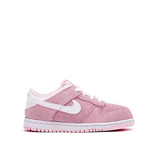 Nike Kleine Kinder Schlittschuhe von Dunk Low (TD), Rot - rot - Größe: 26
