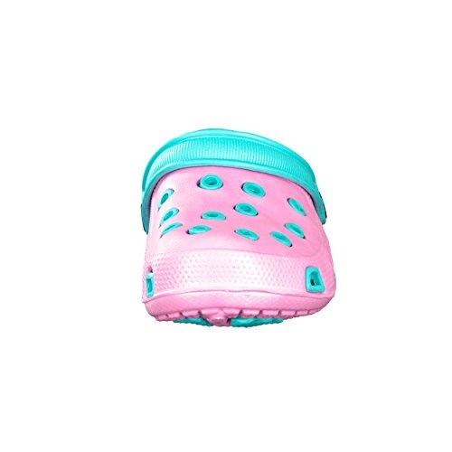 brandsseller, Zoccoli bambine Rosa (Rosa/Hellblau)