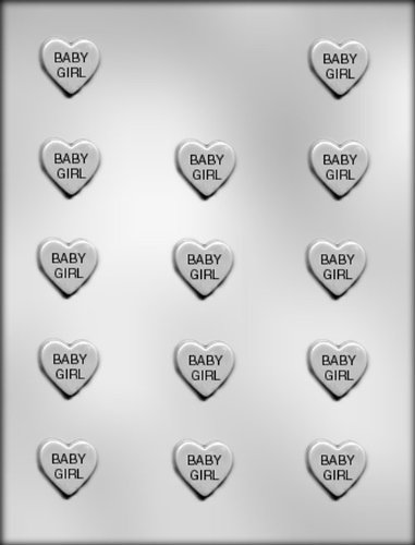 CK Products 1-Inch Baby Boy Heart Chocolate Mold by CK Products