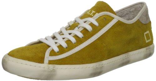 D.A.T.E. Damen Sneakers, E13A-TL-SE-YE, TENDER LOW SUEDE SAND RETRO Gelb