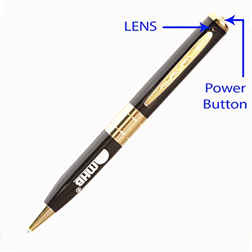 M MHB Best Quality Memory Pen Camera With Video Audio Recording HD Voice Quality Support 32GB Memory
