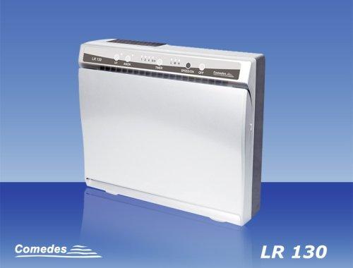 Preisvergleich Produktbild Comedes LR 130 Luftreiniger, Rauchverzehrer, Luftionisator mit HEPA-Filtermedium gegen Staub und schlechte Gerüche (Raumgröße bis zu 40 m²)