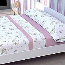 Tolrá Juego de sábanas Infantil Modelo Unicornio ...